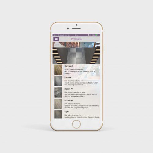 TFD Floortile BV UI & UX design