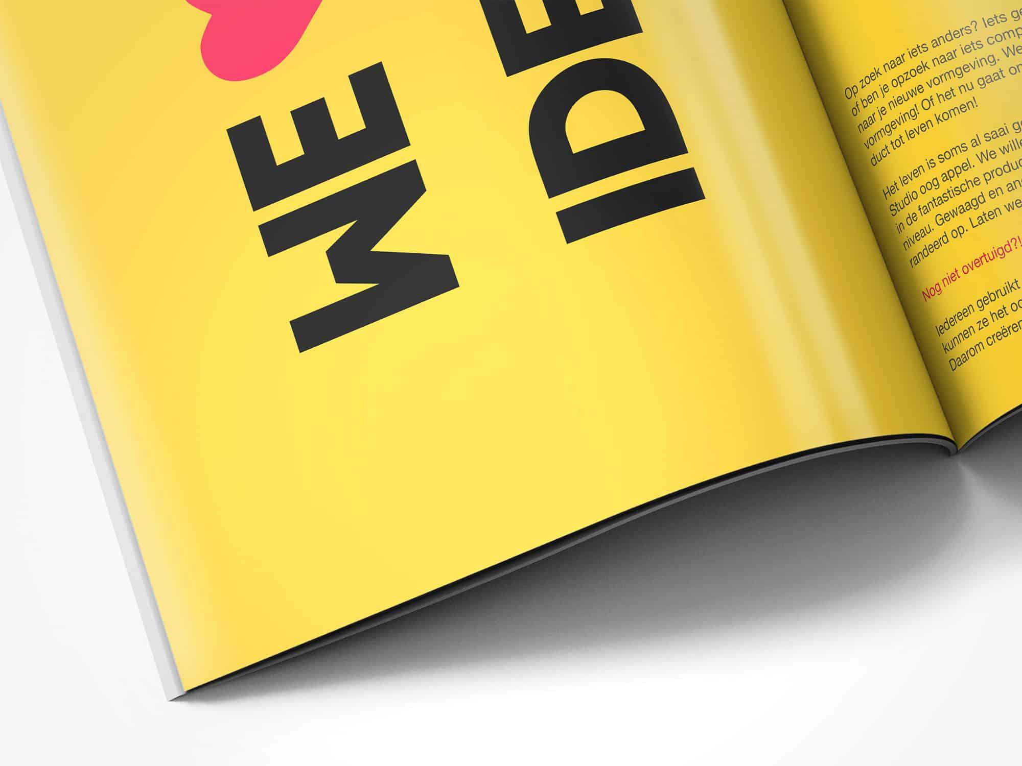Studio oog appel magazine