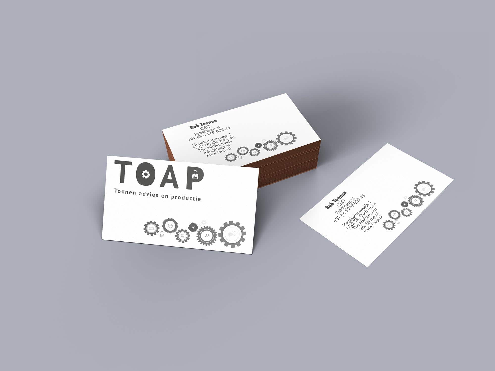 Visitekaartjes Toap