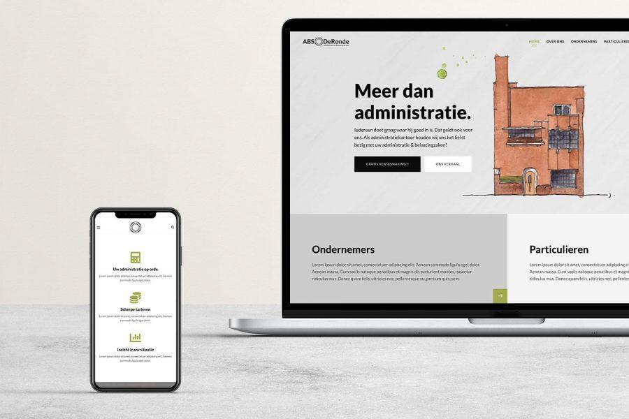 ABS DeRonde website concept