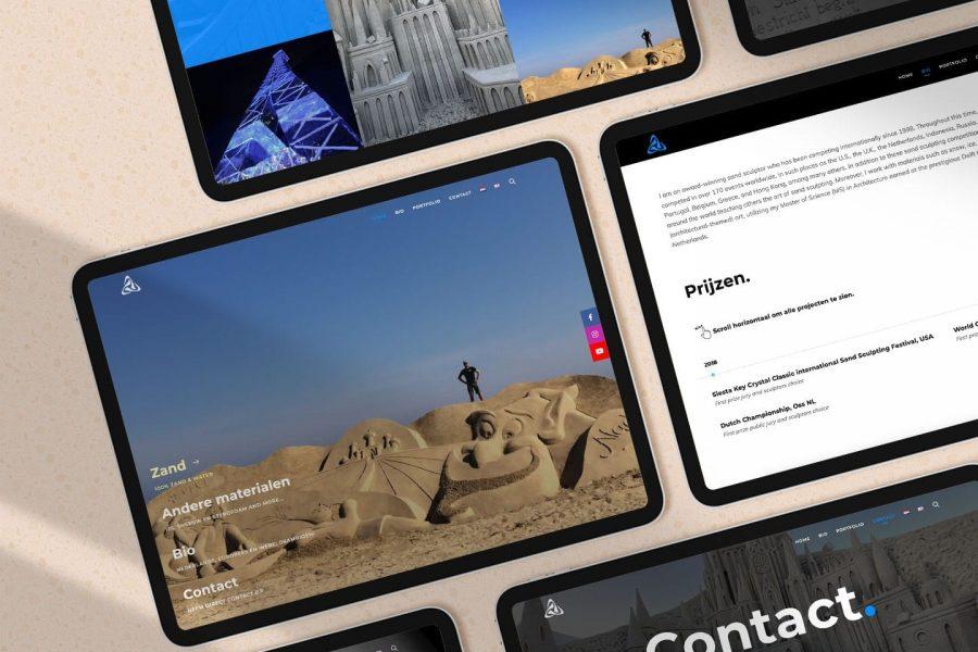 PureMaxim website concept